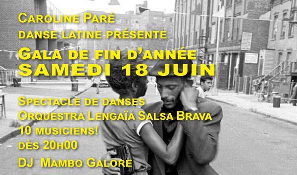 Danse Latine Caroline Paré