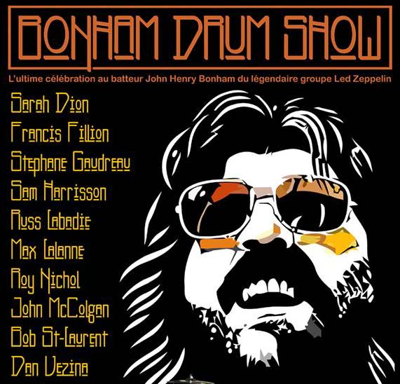 Bonham Drum Show