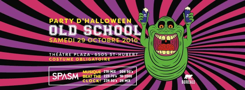 Party d'Halloween Old School 2016