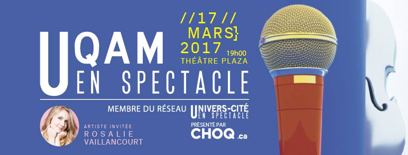 UQAM en spectacle