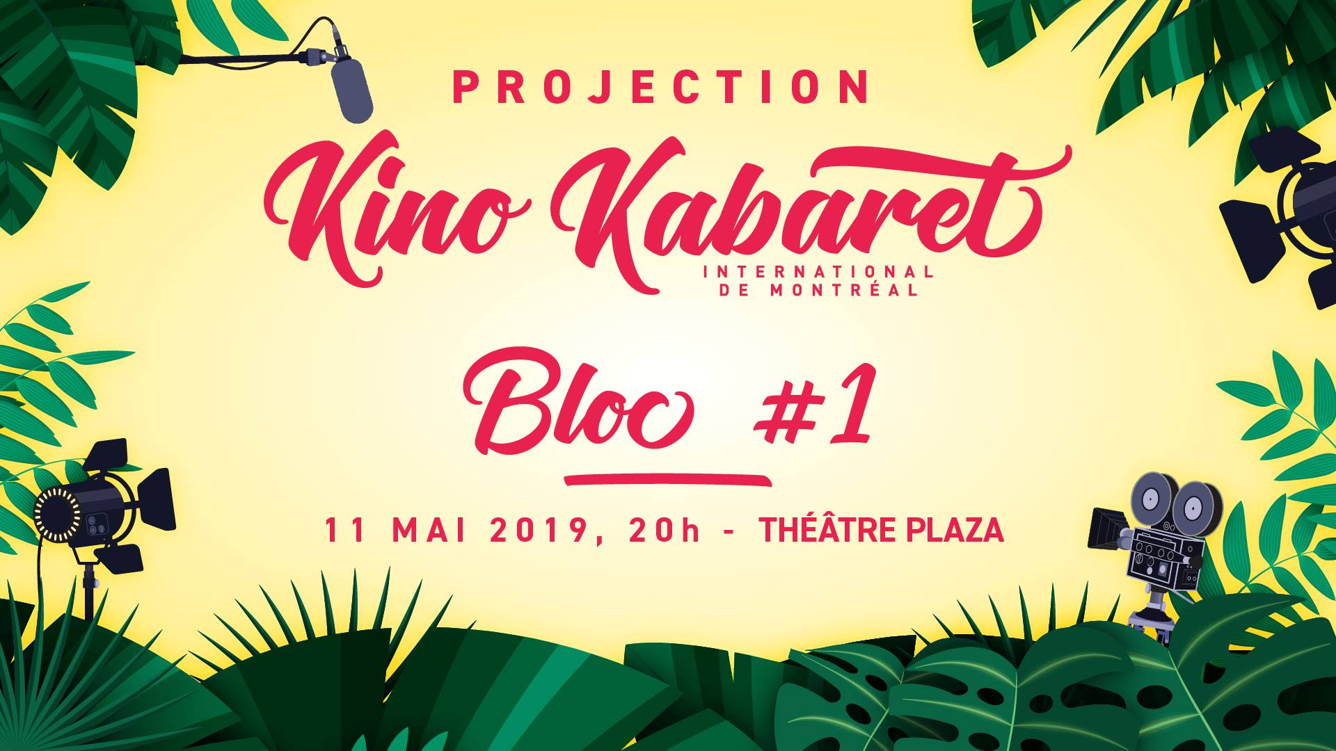 Kino Kabaret International de Montréal 2019