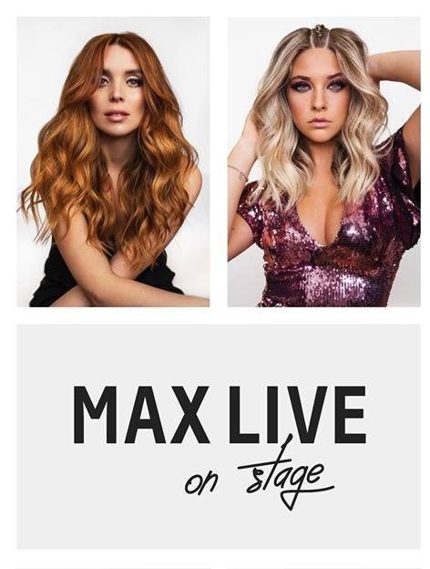 MAX LIVE ON STAGE